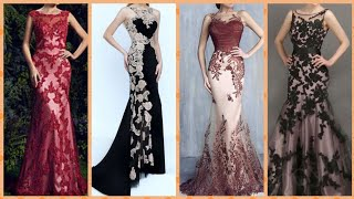 Gorgeous Black Lace Marmaid Evening Gowns Outstanding Prom Maxi Dress Party Dress Designs And Ideas