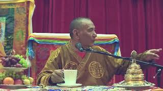 Трансляция лекции Досточтимого Геше Джампа Тинлея (Ершово, 14/1 апреля 2019)