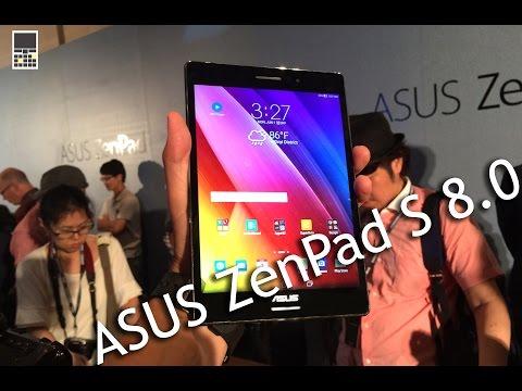 Asus zenpad s 8.0 - новый планшет  computex 2015