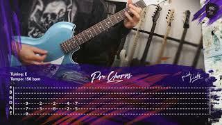 LINDEMANN   Steh Auf  Cover & Guitar Lesson, Instrumental, Tabs