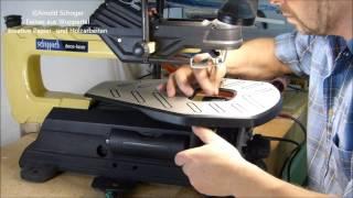 Die deco laser Dekupiersäge von Scheppach, Dekupiersäge FAQ,  kurz vorgestellt von Arnold Schoger