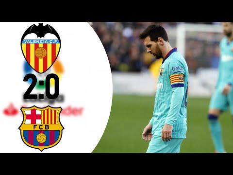 ВАЛЕНСИЯ БАРСЕЛОНА 2:0 ▪ Кике Сетьен проиграл Селадесу ▪ Ужас в обороне Барселоны ▪ Обзор матча