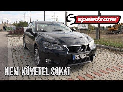 Speedzone-használt teszt: Lexus GS450h (L10): Nem követel sokat, de azt add meg neki
