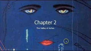 Chapter 2   The Great Gatsby   The Valley of Ashes