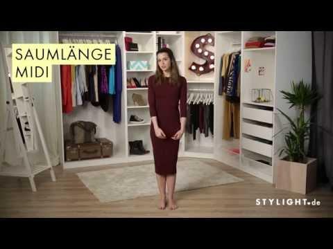 Midi Länge » Was trägt man zu Midi Röcken und Kleidern | STYLIGHT How to Wear