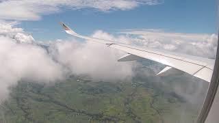 Landing at Kilimanjaro Airport Tanzania