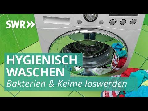 Keimschleuder Waschmaschine
