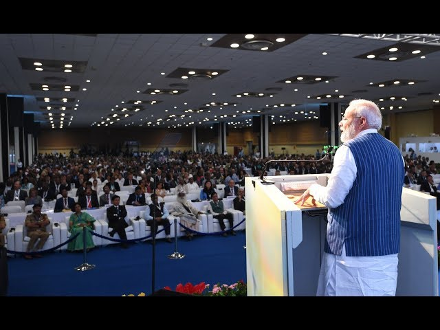 WATCH : PM Shri Narendra Modi addresses 14th Conference of Parties to UNCCD in Greater Noida, Uttar Pradesh