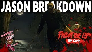 "Friday The 13th: The Game | Jason Voorhees Character Breakdown & More ""NEW Detailed Mechanics"""