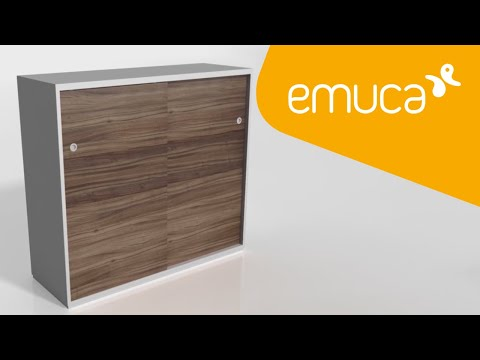 How to mount sliding doors on your furniture with a Clipo 16 sliding system – Emuca
