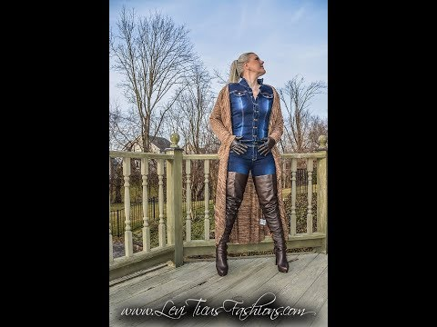 ESPRESSO 2 0 LEATHER THIGH BOOTS AND DUSTER