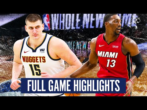DENVER NUGGETS vs MIAMI HEAT – FULL GAME HIGHLIGHTS   2019-20 NBA Season