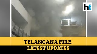 Telangana: 9 killed in Srisailam hydel power plant fire; PM Modi expresses grief - Download this Video in MP3, M4A, WEBM, MP4, 3GP