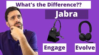 What's the Difference between Jabra Evolve vs Engage? Full MIC & SPEAKER TEST!