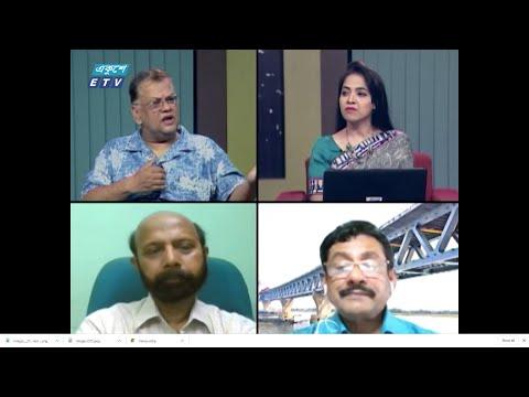 Ekusher Raat || বিষয়: করোনা; দক্ষিণ এশিয়ায় সংক্রমণের উর্ধ্বগতি || 28 July 2020 || ETV Talk Show