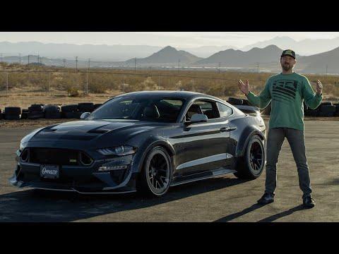 Win a Ford Mustang RTR Spec 5 and Meet Vaughn Gittin Jr. // Omaze