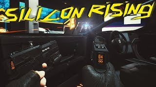 THIS CYBERPUNK STYLE SHOOTER IS INTENSE! | SILICON RISING VR (HTC VIVE)