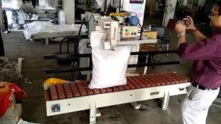 Automatic Column with Bag Infeed & Wooden Conveyor II