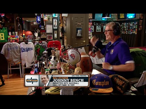 Johnny Bench on The Dan Patrick Show (Full Interview) 07/14/15