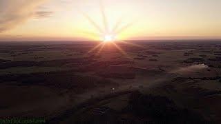 Закат солнца в полях Алтая.(  Relax )
