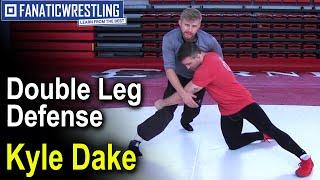 Double Leg Defense by Kyle Dake