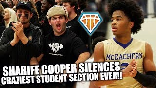 SHARIFE COOPER SILENCES BIGGEST STUDENT SECTION EVER!! | CRAZY Playoff Atmosphere Needs OVERTIME