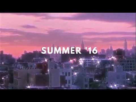 late night summer 2016 playlist [throwback playlist]