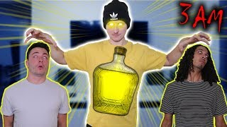*GONE WRONG* DRINKING MIND CONTROLLING POTION AT 3 AM!! (I CONTROL MY FRIENDS MINDS!)