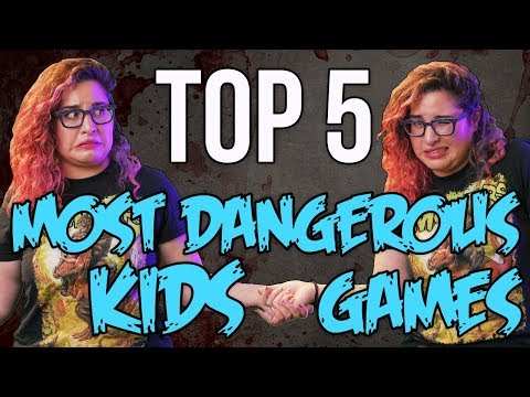 TOP 5 Dangerous Kids Games You Should NOT Play // Dark 5 | Snarled