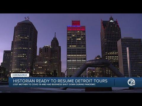 Historian ready to resume Detroit tours