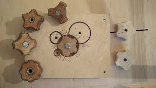 Making A Star Knobs With The Knob JIG 4 In 1
