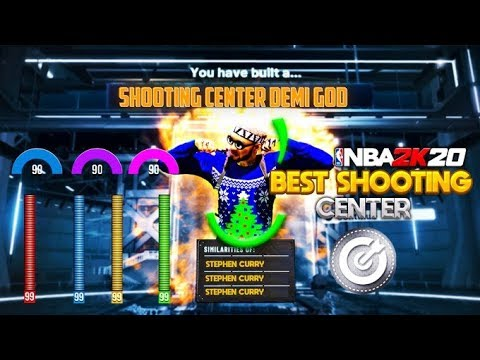 SHOOTING CENTER DEMI GOD! BEST SHOOTING LOCKDOWN CENTER BUILD IN 2K20! BEST JUMPSHOT!