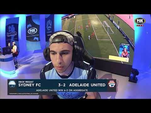 E-League 2018 Xbox Round 8: Sydney FC v Adelaide United Highlights