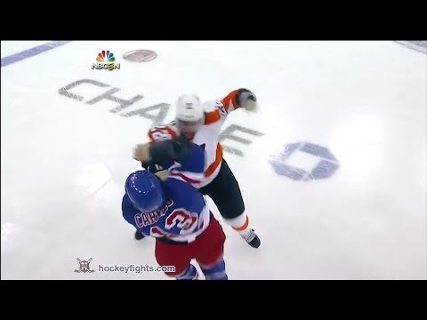 Dan Carcillo vs. Luke Schenn