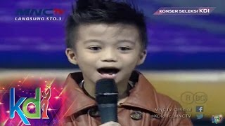 Afan Anaknya Aan KDI Jago Nyanyi Dangdut - Konser Seleksi KDI 2015 (19/3)