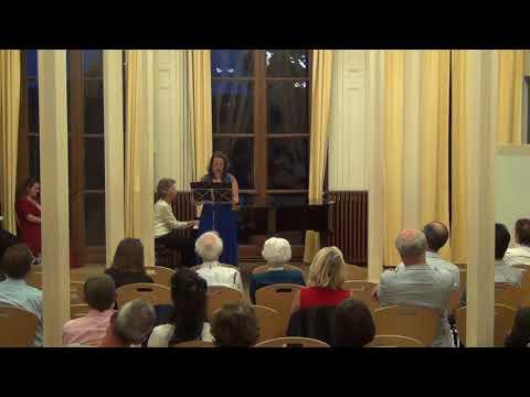 Concert vocal « Les femmes compositrices »<br /> Isabelle Aboulker, Lettre de Marie Curie, « Cher Pierre que je ne verrai plus ici »