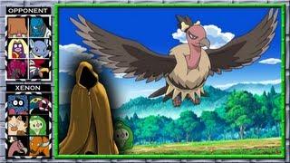 Mandibuzz  - (Pokémon) - Pokemon Black 2 and White 2 WiFi Battle - #113 Try Predict Mandibuzz [NU]