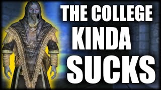 Skyrim - The Problem with the College of Winterhold