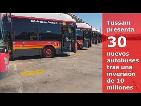 Tussam compra 30 autobuses de gas natural