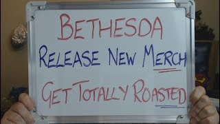 BETHESDA Announce NEW FallOut 76 Merch and get ROASTED BY FANS!!!