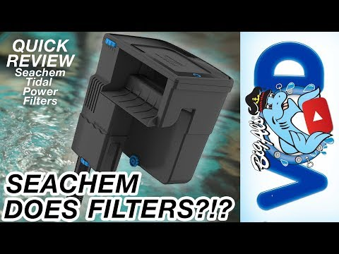 Seachem Tidal Power Filters – Product Review (Video)