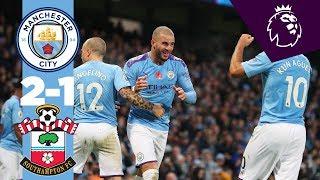 HIGHLIGHTS | Man City 2-1 Southampton | Aguero, Walker