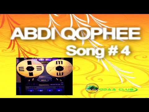 Oromo Music Abdi Qophee's Best Collectiion # 4  Audio Music Only .