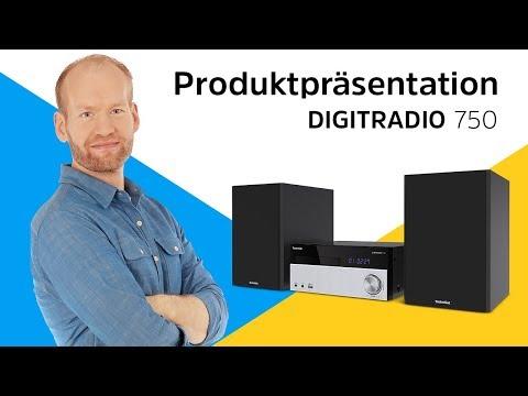 TechniSat DigitRadio 750 (2 x 50W, Bluetooth, CD player)