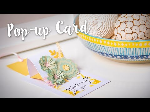 How to Make Pop-Up Card - Sizzix