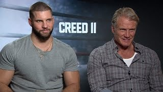 Creed 2: Entrevista con Dolph Lundgren Y Florian Munteanu