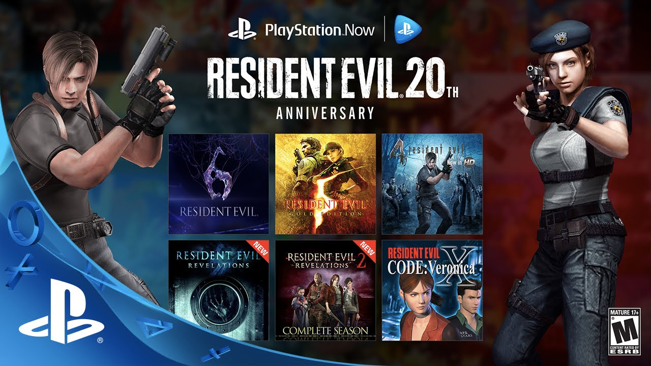 Celebrate 20 Years of Resident Evil with PlayStation Now