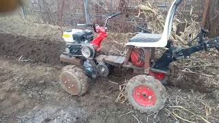MOTOCULTOR 4x4 LA ARAT/ HOME MADE