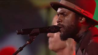 Gary Clark Jr, Jo Walsh & Dave Grohl While My Guitar Gently Weeps Tribute To The Beatles HD