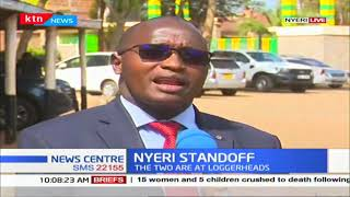 Nyeri county assembly sends a warning to the executive over poor implementation of county projects